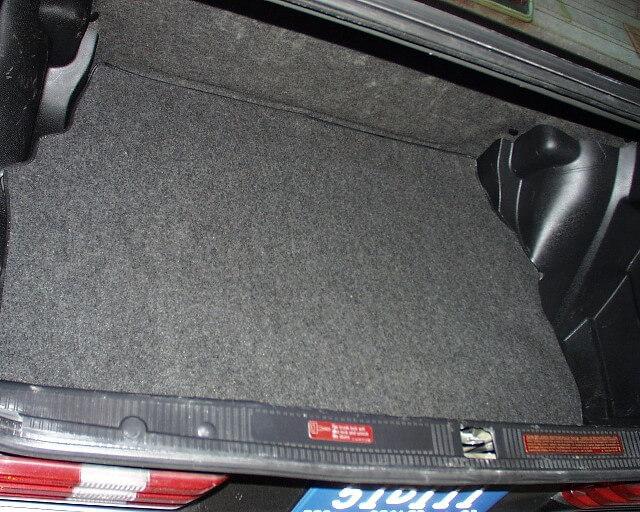 чистка багажника 1