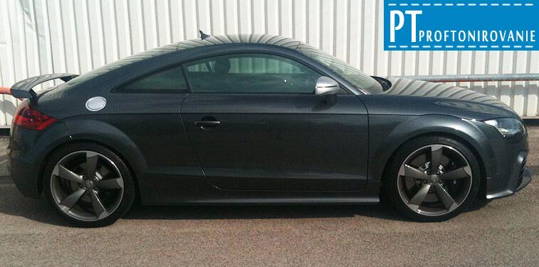 Тонировка боковых стекол Audi tt